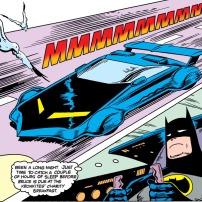 Batmobile in Detective Comics #589, 1988 (DC Comics)