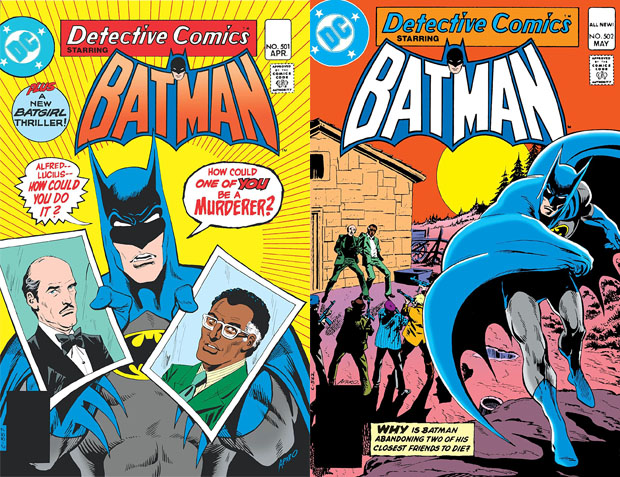 detective comics #501-502