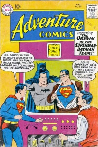 "Superboy: ""The Origin of the Superman-Batman Team!"""