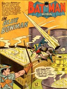 Batman & Robin gegen Blue Bowman