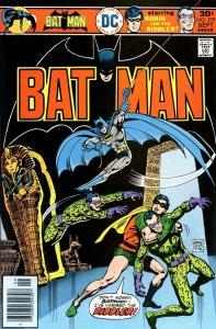 Batman & Robin vs. Riddler im Museum