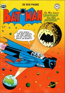 Batman & Robin in Bat-Ship