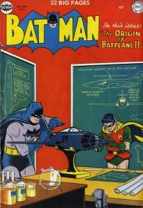 Batman, Robin, Batplane 2