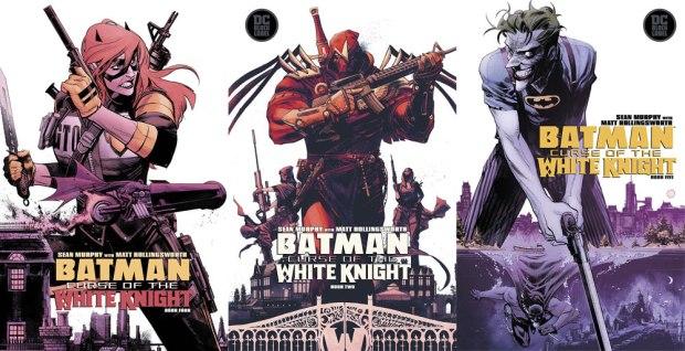 Batgirl, Azrael, Joker by Sean Murphy