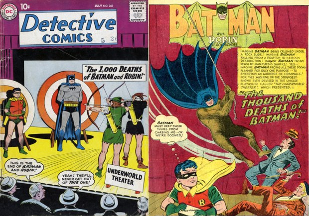 The 1001 Deaths of Batman and Robin