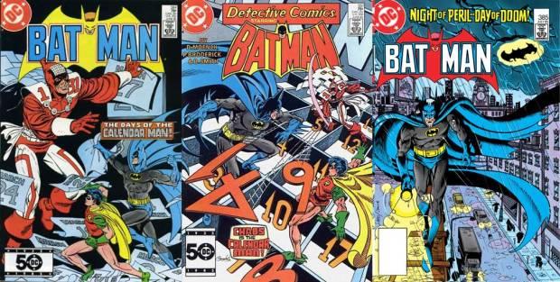 Batman #384, Detective Comics #551, Batman #385