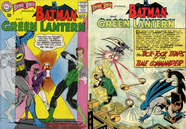 Batman und Green Lantern gegen den Time Commander