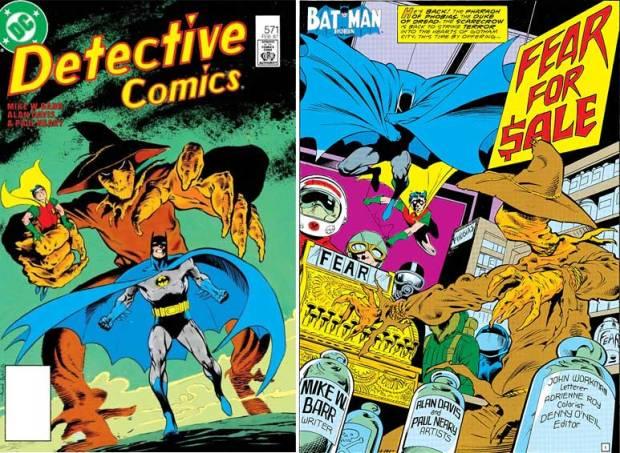 Batman & Scarecrow